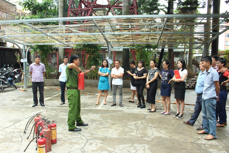 Công ty Cổ phần HACISCO tập huấn phòng cháy chữa cháy